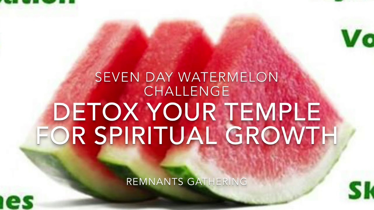 Decalcify with Watermelon Detox Challenge